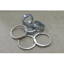 NdFeB Ring Magnets with Nickle Plating, Grade N45